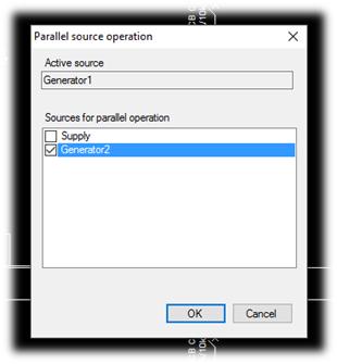 parallel sources