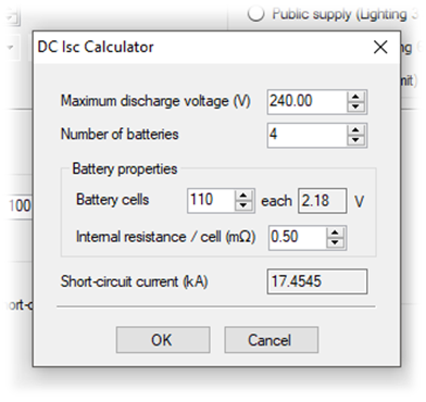 DC Battery source