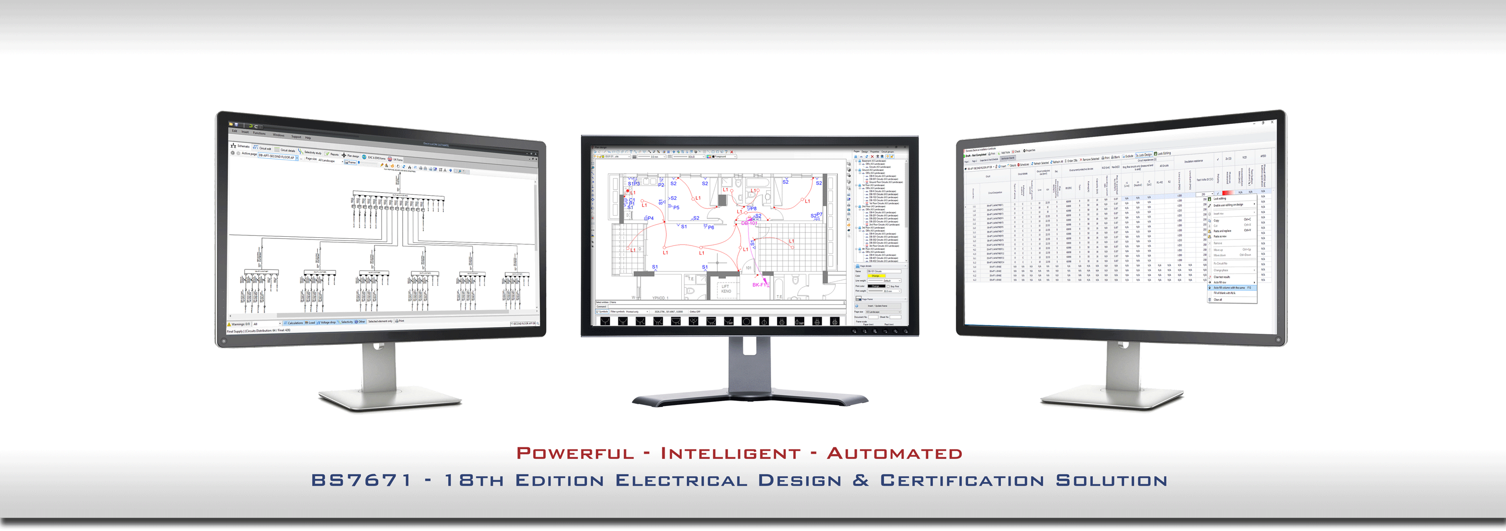 Electrical Design  Cable Sizing And Certification Software